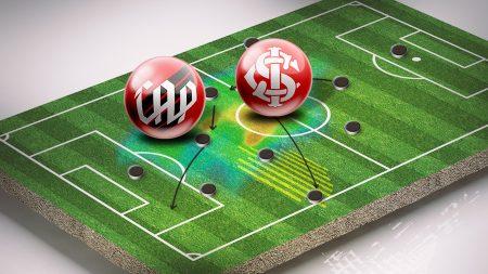 Athletico e Internacional fazem hoje(11) a primeira partida da final pela Copa do Brasil