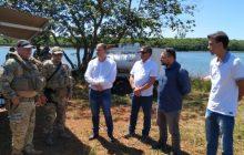 Polícia Federal lança futura base da 'Operação Hórus' em Santa Helena