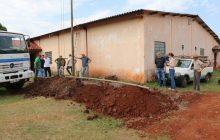 Santa Helena: Infraestrutura trabalha na instalação de poços para amenizar a falta d´'água