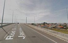 Ciclista grita 'se mate' e jovem que ameaçava suicídio se joga de viaduto