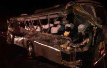 Acidente com ônibus de estudantes na BR 277 deixa dois mortos e 15 feridos