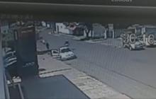 São Miguel: Câmeras de vigilância flagraram tentativa de homicídio