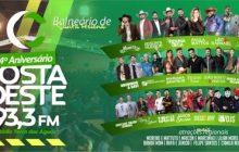 Santa Helena: Domingo é dia do 4º aniversário Costa Oeste 93.3 FM