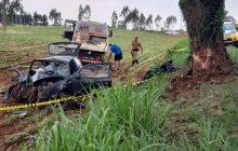 Quatro pessoas da mesma família morrem em acidente de carro em rodovia na Região.