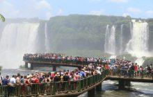 Trinta mil turistas devem visitar as Cataratas do Iguaçu durante o feriado da República