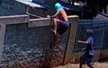 Dupla é flagrada atirando drogas para dentro da cadeia de Matelândia