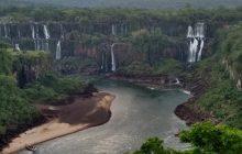 Cataratas do Iguaçu registram a menor vazão de água do ano, diz Copel