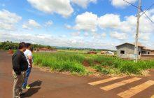 Gerente geral da Caixa vistoria edificações das casas no Caramuru