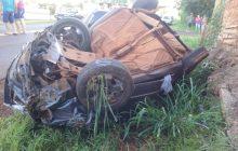 PRE registra acidente com vítimas em Pato Bragado