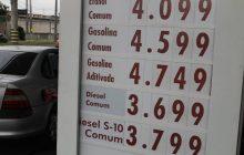 Gasolina e Etanol sobem de preço no Paraná ás vésperas das viagens de fim de ano