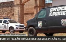 Brasil fecha fronteira com Paraguai no Mato Grosso do Sul após fuga de 76 presos