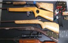 Homem é preso pela Policia Militar de posse de várias armas em Santa Helena