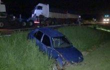 Grave acidente envolvendo carreta bitrem, caminhão frigorífico e carro é registrado na BR-467 entre Cascavel e Toledo