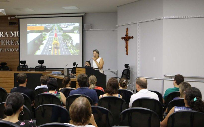 Revitalizações na rua Ângelo Cattani e avenida Rio Grande do Sul são aprovadas durante Audiência Pública