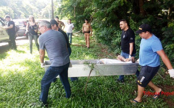 Cadáver em adiantado estado de putrefação é encontrado em matagal