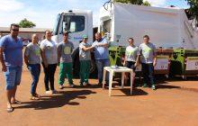 Associação dos recicladores de Itaipulândia (ASSOREMI) recebe um novo caminhão