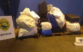 Policiais do BPFron apreendem aproximadamente R$52 mil em mercadorias do Paraguai em Céu Azul