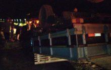 Acidente envolvendo F-1000 de Marechal Rondon e S-10 de Entre Rios deixa três feridos