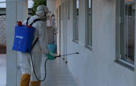Prefeitura reforça trabalho de limpeza e desinfecção em Santa Helena