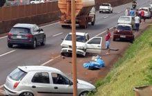 Medianeira: Três veículos se envolvem em acidente na rodovia BR 277