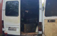Policiais apreendem veículos carregados com caixas de cigarros e eletrônicos em Itaipulândia