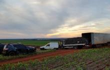 BPFRON estoura depósito de contrabando em Santa Helena