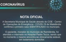 Matelândia confirma primeiro caso de coronavírus; paciente reside em Ramilândia