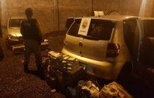 BPFron apreende veículo com 210 quilos de maconha em São Miguel do Iguaçu
