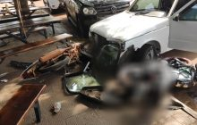 Perseguição policial termina com várias colisões em Entre Rios do Oeste