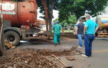 Santa Helena: Município contrata empresa para limpeza e desobstrução de bocas de lobo