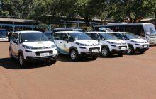 Santa Helena recebe quatro automóveis para dar suporte a secretaria municipal de Assistência Social