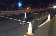 (Vídeo)Taxista morre atropelado na BR 277 em São Miguel do Iguaçu