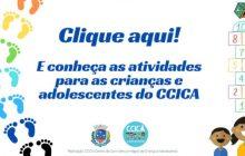 CCICA oferece atividades de aprendizagem online