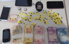Denarc e Polícia Militar realizam apreensão de cocaína em Matelândia