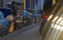 725 kg são apreendidos pela PRF em Céu Azul; veículo era roubado