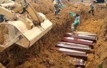 Prefeitura faz valas comuns em cemitério para enterrar vítimas de coronavírus