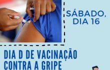 Sábado será de vacinação contra a Gripe em Santa Helena