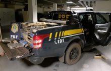 PRF encontra 1 tonelada de maconha em carreta que seria levada para Medianeira