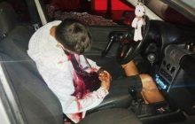 Homem é executado a tiros de pistola 9mm dentro do carro
