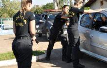 Polícia Civil do Paraná abre inscrições para 400 vagas; salários vão R$ 5.588,05 até R$ 18.280,05