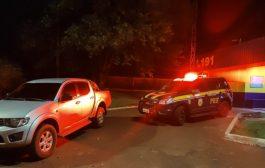 Homem é preso em Matelândia com caminhonete roubada em SP