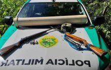 Polícia apreende materiais de caça ilegal no Parque Nacional em São Miguel do Iguaçu