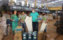Associação dos Recicladores de Itaipulândia recebe EPI's
