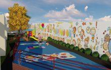 CMEI Infância Feliz terá 10 espaços para atividades externas com as crianças