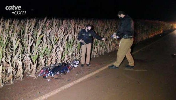 Cavaleiro morre após ser atropelado em estrada municipal de Toledo