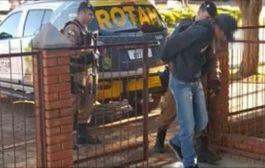 (Vídeo) ROTAM cumpre mandado de prisão em Itaipulândia