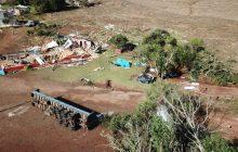 Oeste Catarinense: Fotos mostram a destruição causada pelo forte temporal que atingiu a região