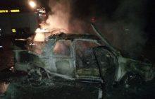 Itaipulândia: Dois veículos são consumidos pelas chamas após acidente