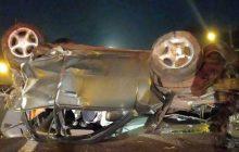Jovem morre após capotamento na BR-277 em São Miguel do Iguaçu