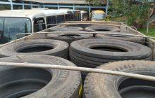 Município de Santa Helena recebe cerca de R$100 mil em pneus da Receita Federal